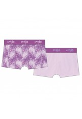 Cavello damesshort 2-pack Women Feather Purple